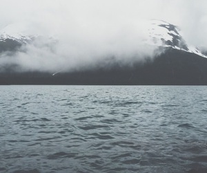 clouds, cloudy, and glacier image