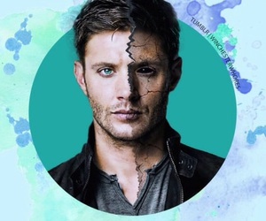 dean winchester, spn, and deanmon image