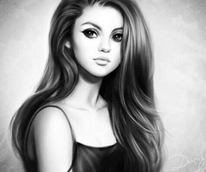 selena gomez, art, and selenator image