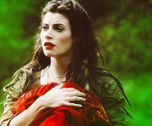 ruby, once upon a time, and red riding hood image