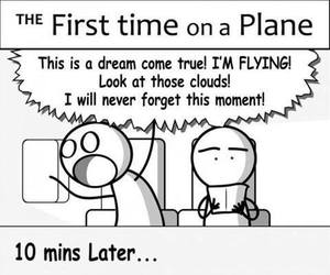 funny and plane image
