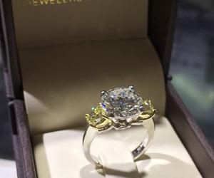 wedding, diamond, and luxury image