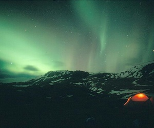 nature, northern lights, and tumblr image