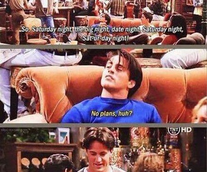 chandler, tv series, and funny image