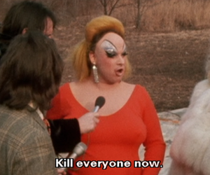 divine, everyone, and pink flamingos image
