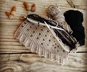 autumn, cozy, and crochet image