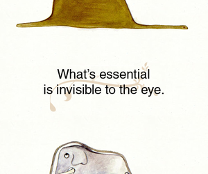 eye, invisible, and essential image