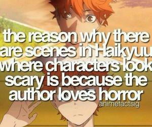 anime, haikyuu!, and anime facts image
