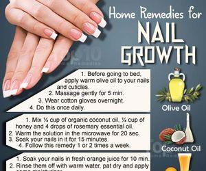 nails, diy, and tips image