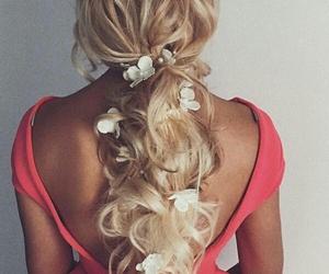 bride, elegant, and hairstyle image