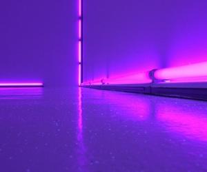 purple, glow, and light image