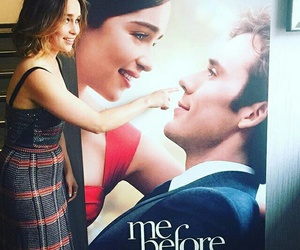 emilia clarke, funny, and me before you image