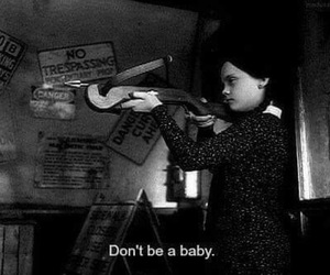 black and white, quotes, and the addams family image