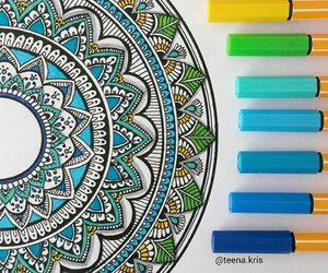 art, colors, and creativity image