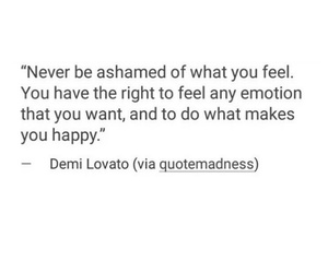 demi lovato, emotion, and feelings image