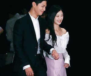 holding hands, otp, and kim yoo jung image