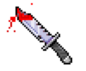 blood, cool, and knife image