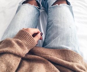 autumn, style, and bed image