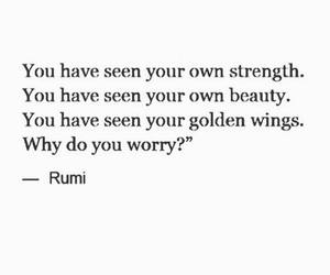 quote, beauty, and Rumi image