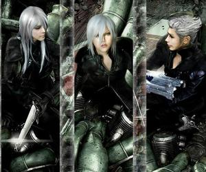 final fantasy cosplay, video game cosplay, and advent children cosplay image