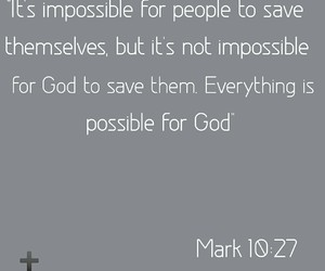 everything is possible, god, and jesus image