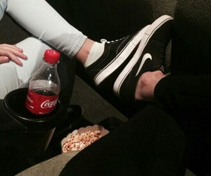 couples, fashion, and vans image