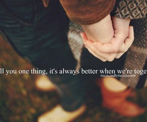 couple, quote, and Relationship image