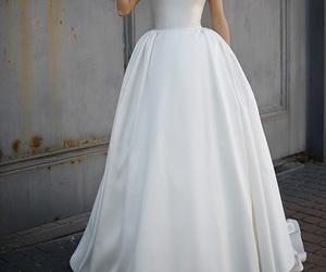 bride, casamento, and dress image