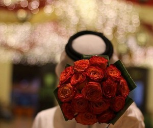 arab and roses image
