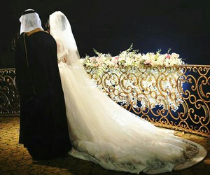 arab, couple, and marriage image