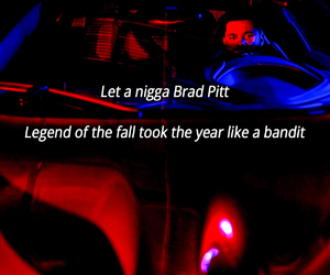 brad pitt, quote, and xo image