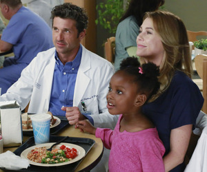 grey's anatomy, zola, and meredith grey image