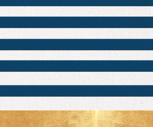 gold, navy blue, and stripped image