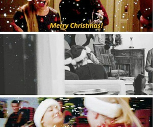 glee, merry christmas, and santana lopez image