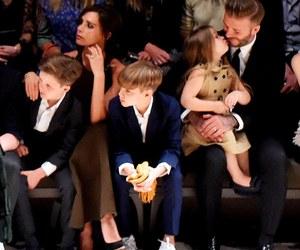 David Beckham, victoria beckham, and beckham family image