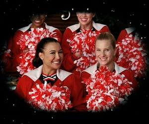 glee, santana lopez, and red image