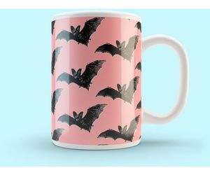 aesthetic, bats, and cup image