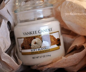 candle, smell, and yankee candle image
