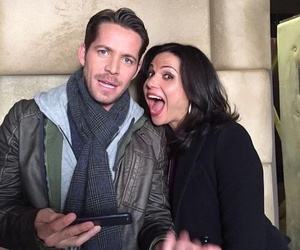 once upon a time, sean maguire, and lana parrilla image
