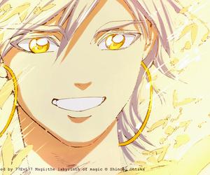 Sinbad, magi, and colored manga image