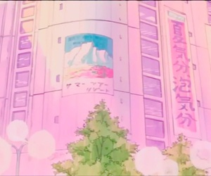 aesthetic, anime, and department store image