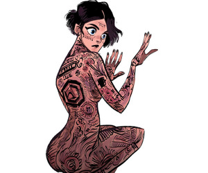 fan art, Jaimie Alexander, and Tattoos image