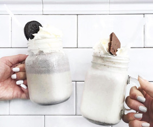food, drink, and oreo image