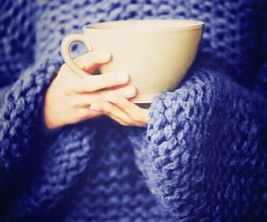 blue, sweater, and warm image