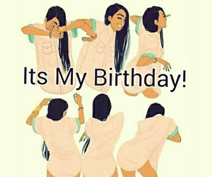 funny, its my birthday, and october image