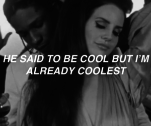 lana del rey, cool, and coolest image
