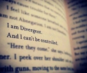divergent, book, and tattoo image