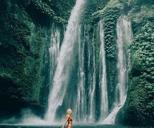 beautiful, girl, and nature image