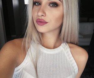 girl, goals, and makeup image