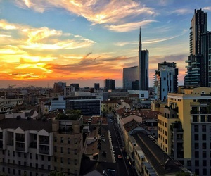 italy, milan, and sky image